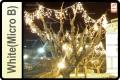 ICICLE CURTAIN LIGHTS  190 LEDS 0.5x5M MICRO BULBS