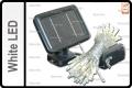 SOLAR LED STRING LIGHTS WHITE COLOR